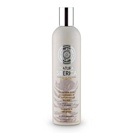 Natura Siberica бальзам для волос Защита и энергия для уставших и ослабленных волос 400мл